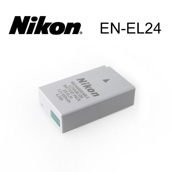 【現貨供應】Nikon EN-EL24 原廠數位相機電池 for: Nikon 1 J5