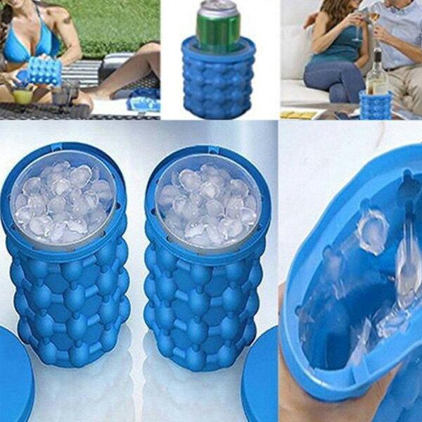 糖衣子輕鬆購【BA0138】大號極夏魔冰桶製冰桶啤酒冰桶icegeniecubemaker製冰神器矽膠冰桶
