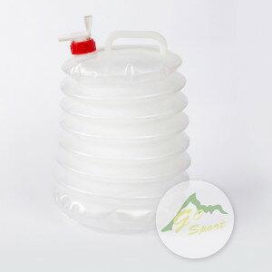 【露營趣】中和安坑 Go Sport 36002 2GAL 燈籠水桶 儲水桶 摺疊水桶 軟式水桶 手提水桶 水龍頭