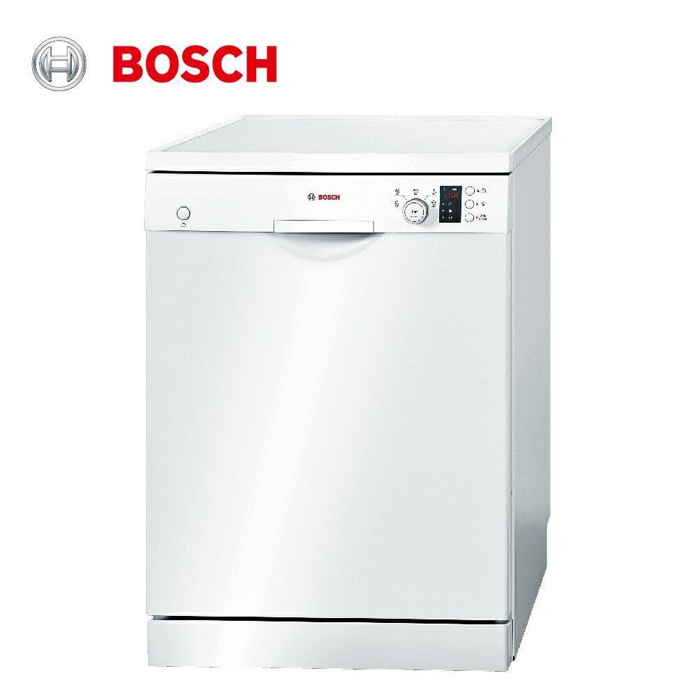 ★贈基本安裝【BOSCH博世】60cm 13人份 110V獨立式洗碗機(SMS53E12TC)