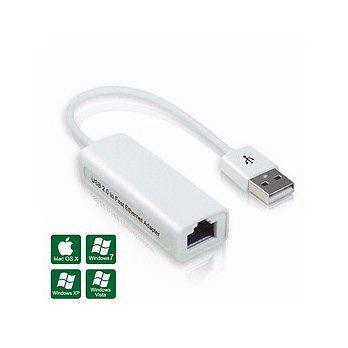 [富廉網] USB 2.0 轉 RJ-45 高速網路卡 - 支援 MAC 系統 - 限時優惠好康折扣