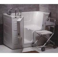 銀髮族衛浴用品推薦到浴缸 按摩浴缸 Sanspa 銀髮族走入式開門浴缸HY-1341就在和泉居家生活館推薦銀髮族衛浴用品