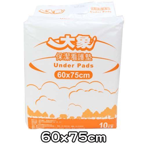 保潔看護墊 大象 60x75cm(10片x12包/箱)