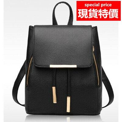 (現貨 附發票)後背包 質感十字紋防水皮質束口袋兩用背包 共5色(A821系列) /寶來小舖