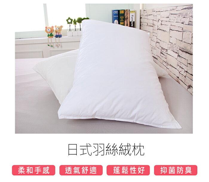 專櫃頂級高質感日式羽絲絨枕《GiGi居家寢飾生活館》