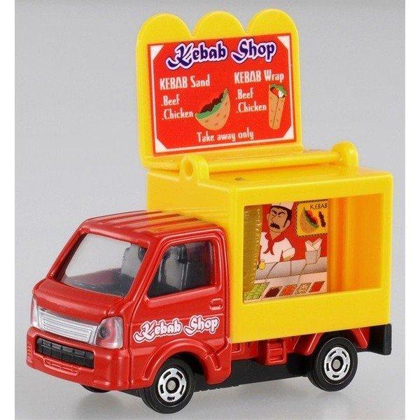 【真愛日本】16042600003 TOMY小車-移動販賣餐 TAKARA TOMY多美小汽車 小車 模型 收藏 玩具