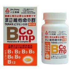 【人生製藥】渡邊維他命B群糖衣錠(120粒/盒)