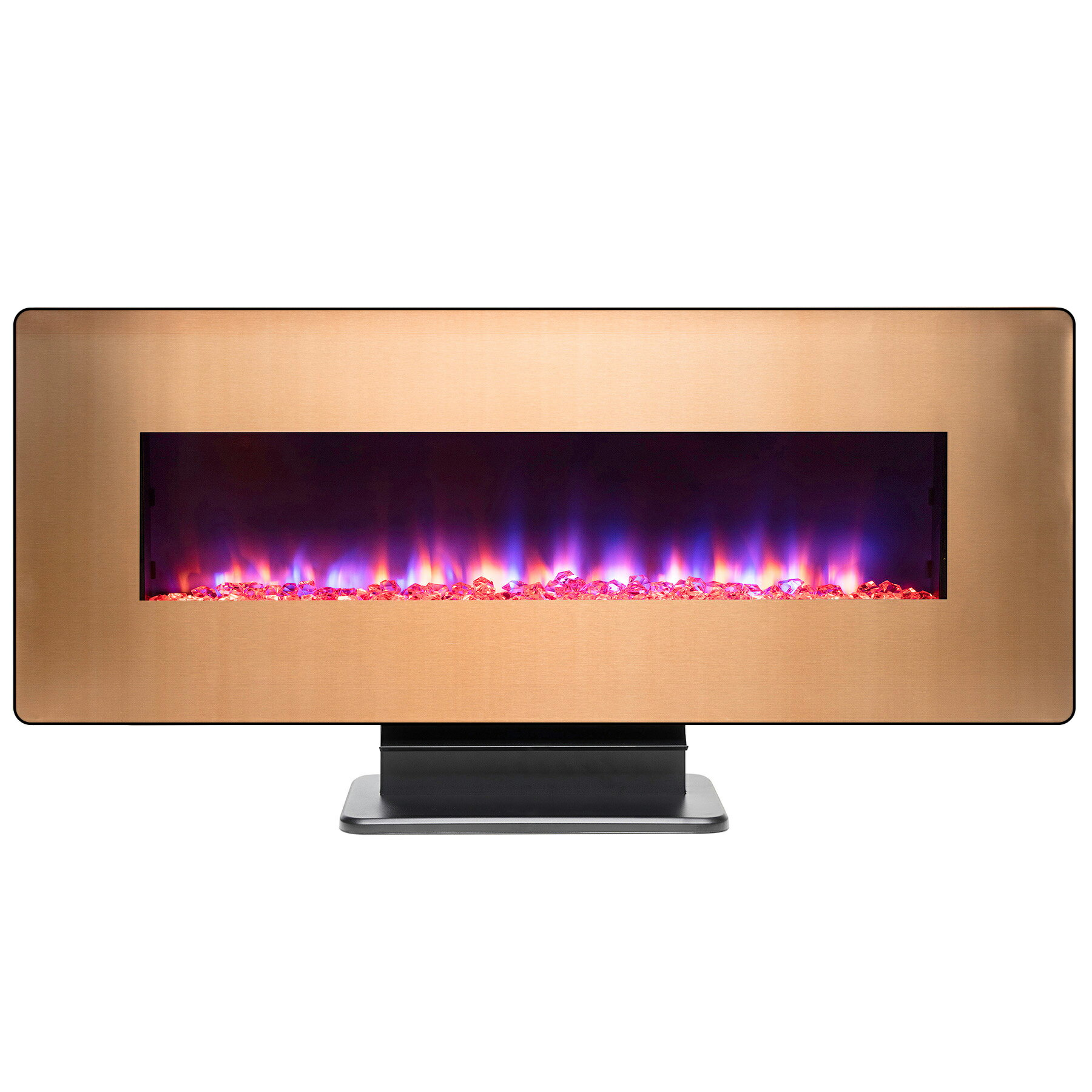"""AKDY 48"""" Wall Mount Freestanding Changeable Electric Fireplace w/ Remote 0"""
