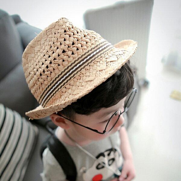 PS Mall 男童女童遮陽帽出遊帽超時尚鏤空兒童【B016】 0