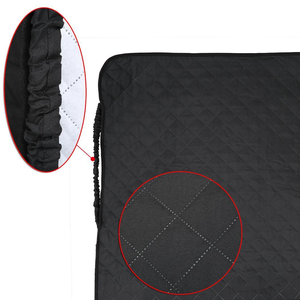 Quilted Micro Fiber Pet Dog Loveseat Chair Sofa Cover 4