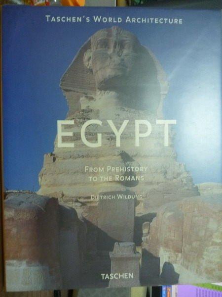 ~書寶 書T7/大學社科_QNS~Egypt: From Prehistory to th
