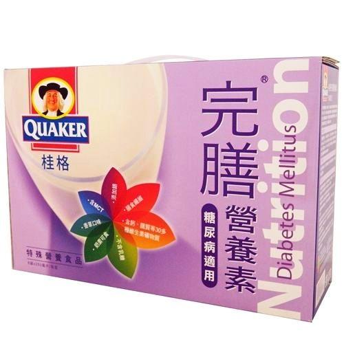 桂格-完膳糖尿病禮盒