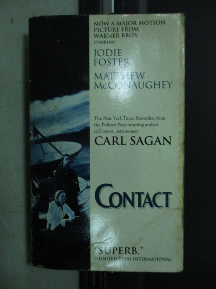【書寶二手書T3/原文小說_LDF】Contact_Sagan Carl