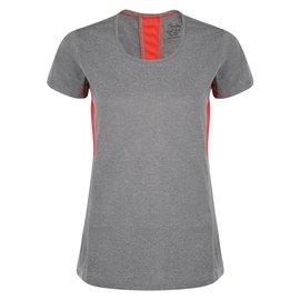 【【蘋果戶外】】『零碼出清』Dare2bDWT404灰色女英國進口名牌服飾愛絲沛彈短圓領排汗衣WOMEN''SASPECTTEE