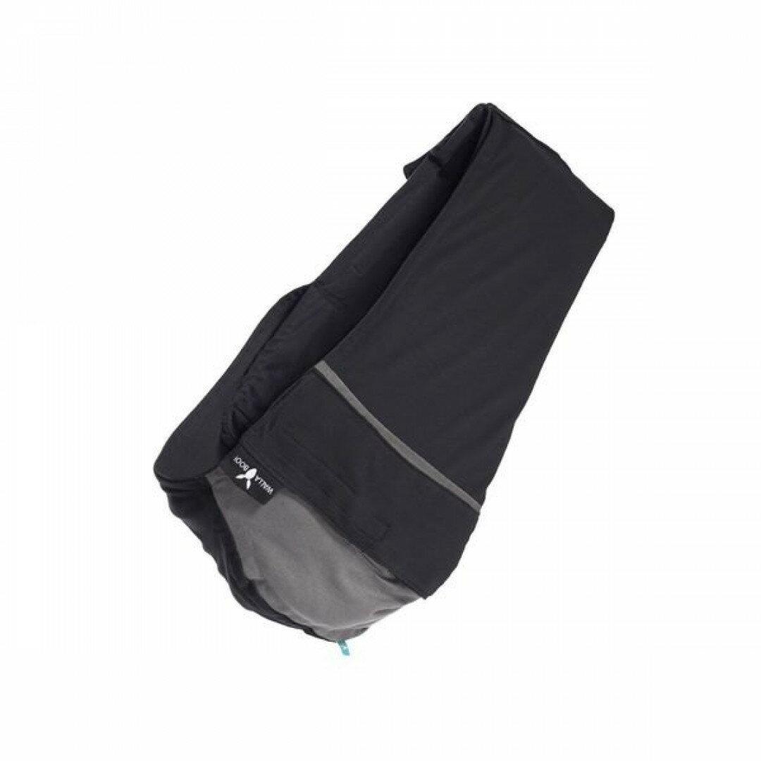 【Wallaboo】 酷媽袋鼠背巾/揹巾-雙色(黑/灰)