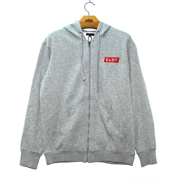 【CLOTS】★SPECIALSALE★BOXLOGOZIPUPHOODIECLHD16F30004-GY