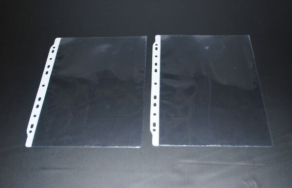 鼎盛 696A-11孔-A4-PVC投影片內頁 10張/包