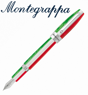義大利Montegrappa萬特佳TRICOLOR財富三色筆系列-鋼筆ISFOR_II支