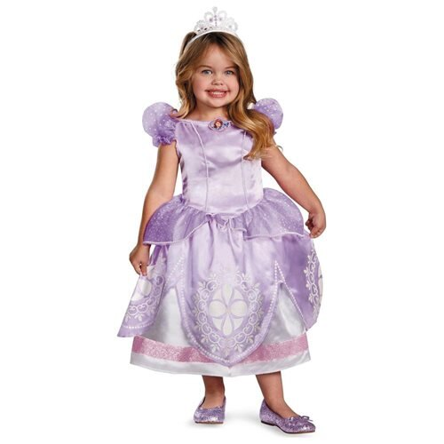Disney Sofia the First Deluxe Toddler / Child Costume 0