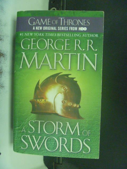 【書寶二手書T3/原文小說_GSE】A Storm of Swords _George R. R. Martin