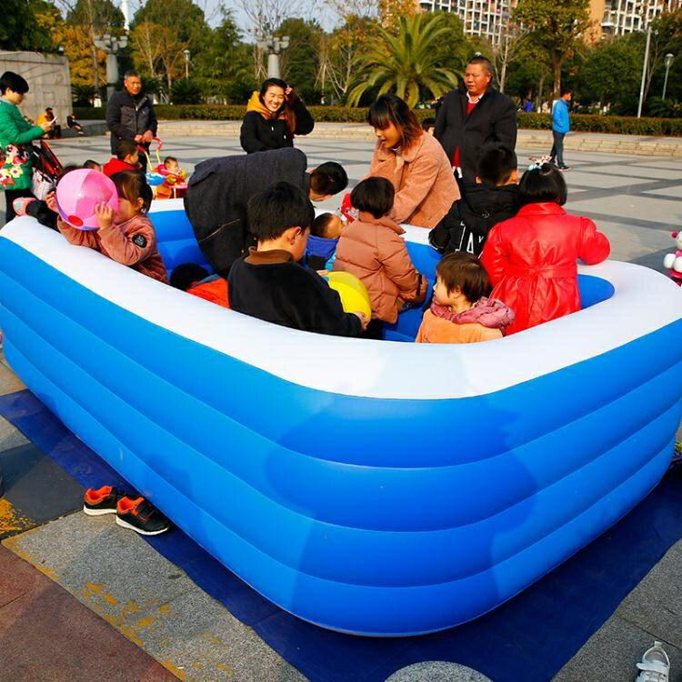 【八折下殺】泳池 充氣游泳池家用兒童戶外寶寶嬰幼兒家庭水池大海洋球池工廠 閒庭美家