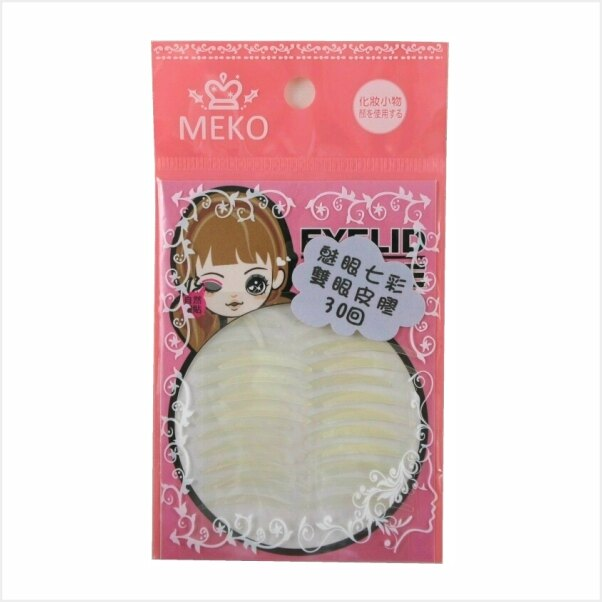 MEKO 魅眼七彩雙眼皮貼30回-黃 M-067