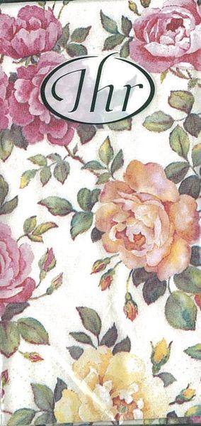 玫瑰園-德國 IHR 紙手帕
