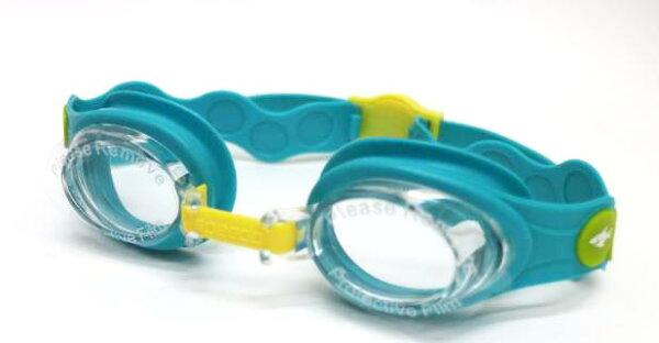 [陽光樂活]SPEEDO兒童泳鏡SeaSquad峇里藍SD808382B562