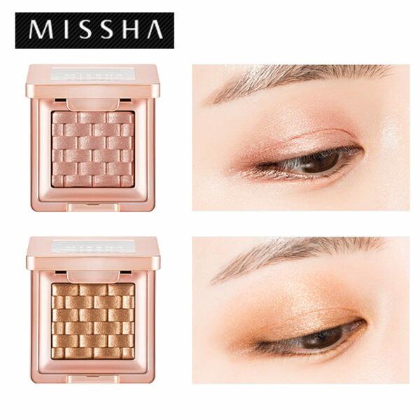 韓國MISSHA義大利玫瑰編織紋眼影(1.5g)【庫奇小舖】多款