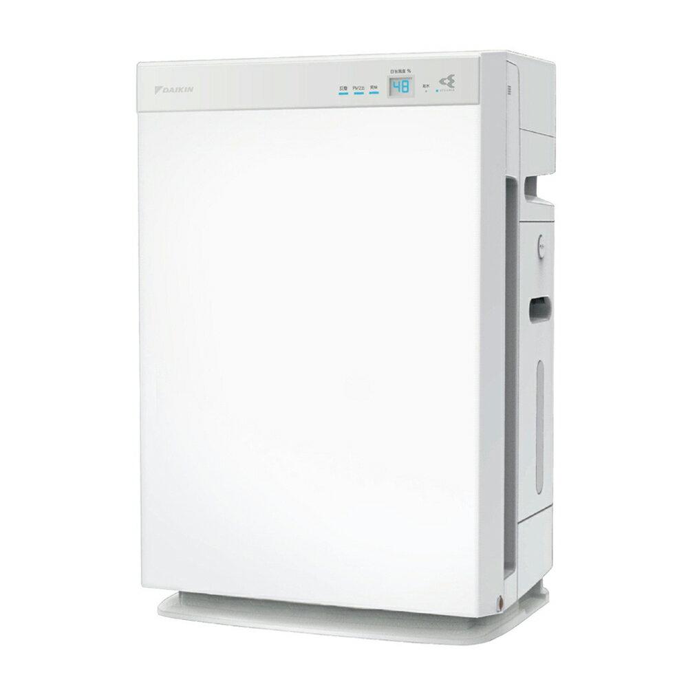 大金 DAIKIN 15.5坪 保濕雙重閃流空氣清淨機 MCK70VSCT-W