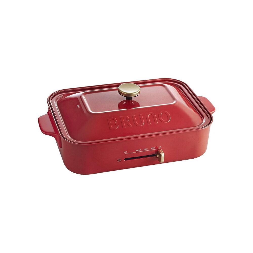 BRUNO BOE021 多功能電烤盤 章魚燒機(紅色)(原廠一年保固)(該商品只能使用全站優惠券) -|日本必買|日本樂天熱銷Top| 日本主婦必買