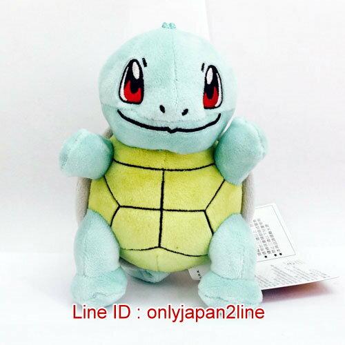 【真愛日本】16121700004吊娃-5吋傑尼龜    神奇寶貝 Pokemon  鎖圈  吊飾