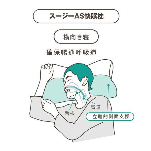 0運費!日本樂天銷售第一 AS快眠枕  枕頭。銷售破40萬顆-日本必買 日本樂天代購 (5880*0.8) 2