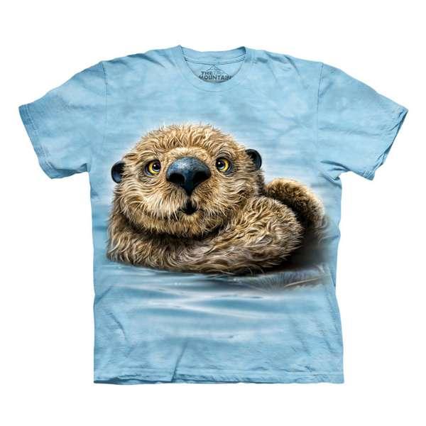 【摩達客】美國進口The Mountain 水瀨(預購)純棉環保短袖T恤