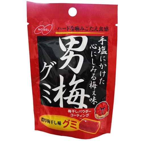 日本《諾貝爾》男梅軟糖38g