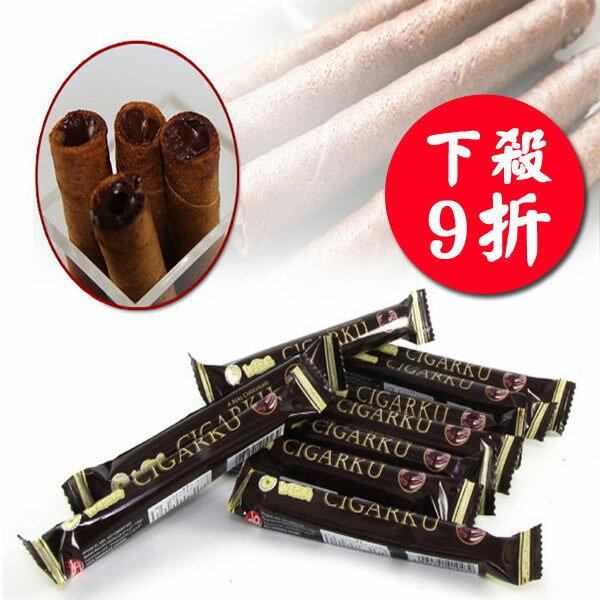 Wasuka 特級巧克力威化捲/爆漿捲心酥(280g)甜園小舖▶全館滿499免運