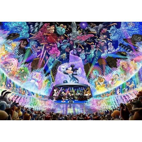 【進口拼圖】迪士尼 DISNEY-迪士尼透明拼圖 米奇夢幻水上音樂會 500片 DSG-500-437