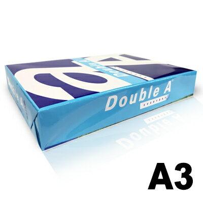 【文具通】Double A 達伯埃 影印紙 噴墨 雷射 影印 A3 70gsm 白色 500張/包 含稅價 P1410690