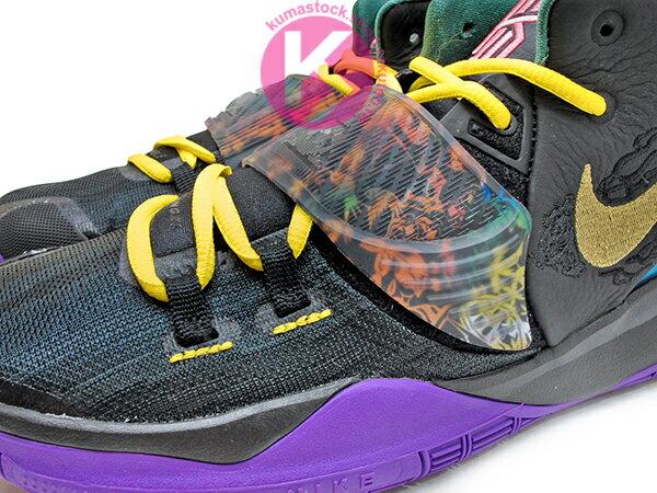 2020 Kyrie Irving 最新代言鞋款 NIKE KYRIE 6 VI GS CNY 大童鞋 女鞋 黑紫黃 農曆新年 歐文 籃球鞋 (CQ5820-001) 0120 2