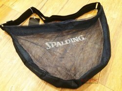 【H.Y SPORT】斯伯丁SPALDING SPB5321N62 高級單顆裝 籃球袋/輕便型籃球網袋.置鞋袋.衣物袋