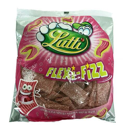 LUTTI 草莓風味酸軟糖225g【愛買】