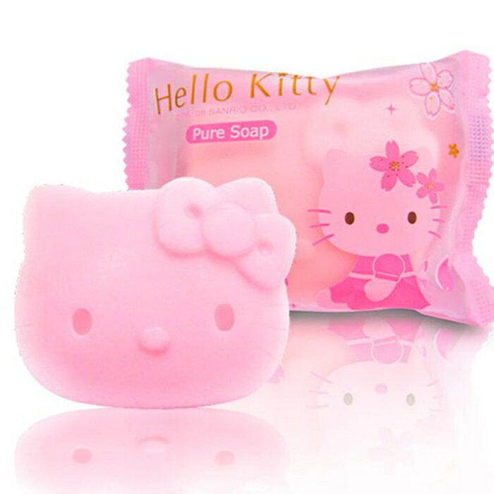 ☆Hello Kitty☆ 凱蒂貓 櫻花玻尿酸造型SPA時尚禮盒(1造型沐浴/1造型洗髮/3香氛皂 2