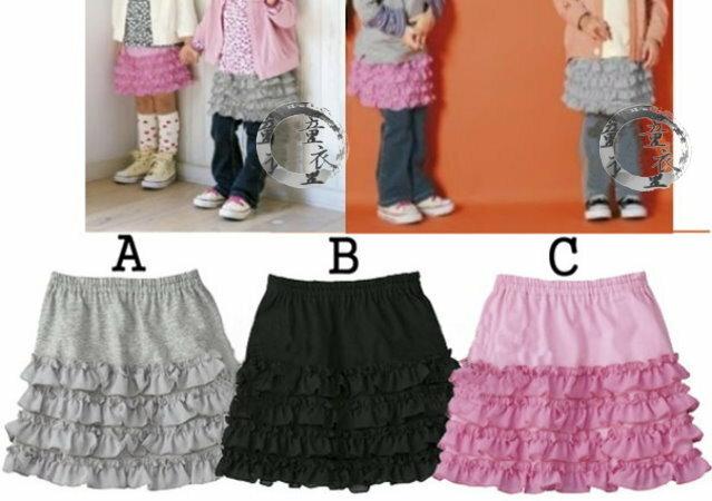 童衣圓~AG043~AG43花邊裙 涼夏 小短裙 迷你裙 蕾絲 花邊裙 蛋糕裙 百搭款^~