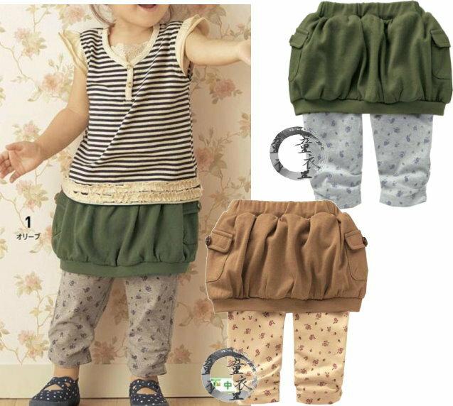 童衣圓~AG47燈籠褲裙~ 薄棉 淑女 氣質 舒適 短裙 內搭褲 彈性綿 褲裙^~100.