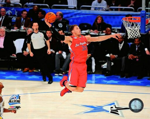Blake Griffin 2012 NBA Rising Stars Challenge Action Photo Print (20 x 24) 81ad52c5bf17a33cc3be98d311f757c3