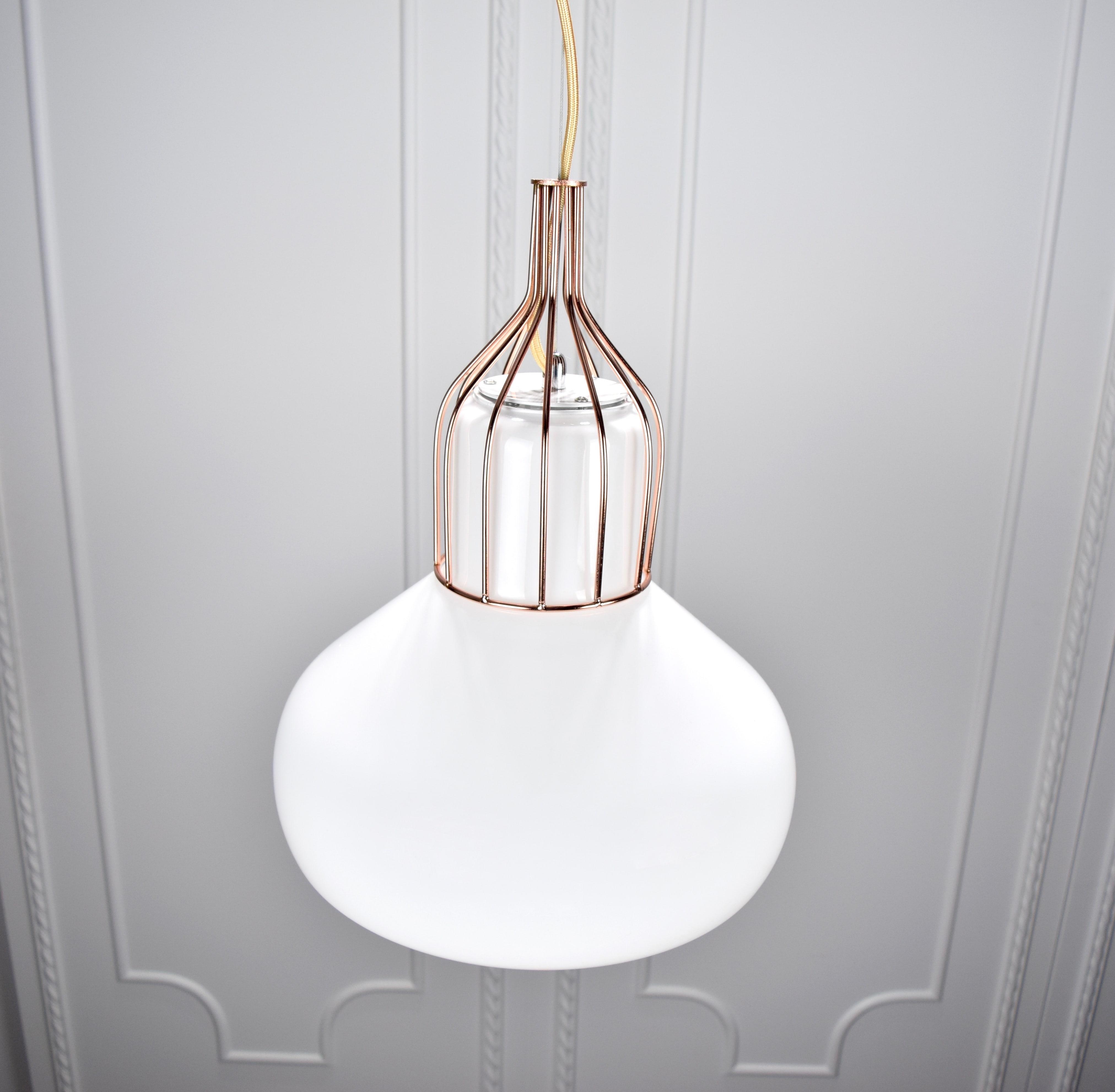 白玉紅銅吊燈-BNL00116 5