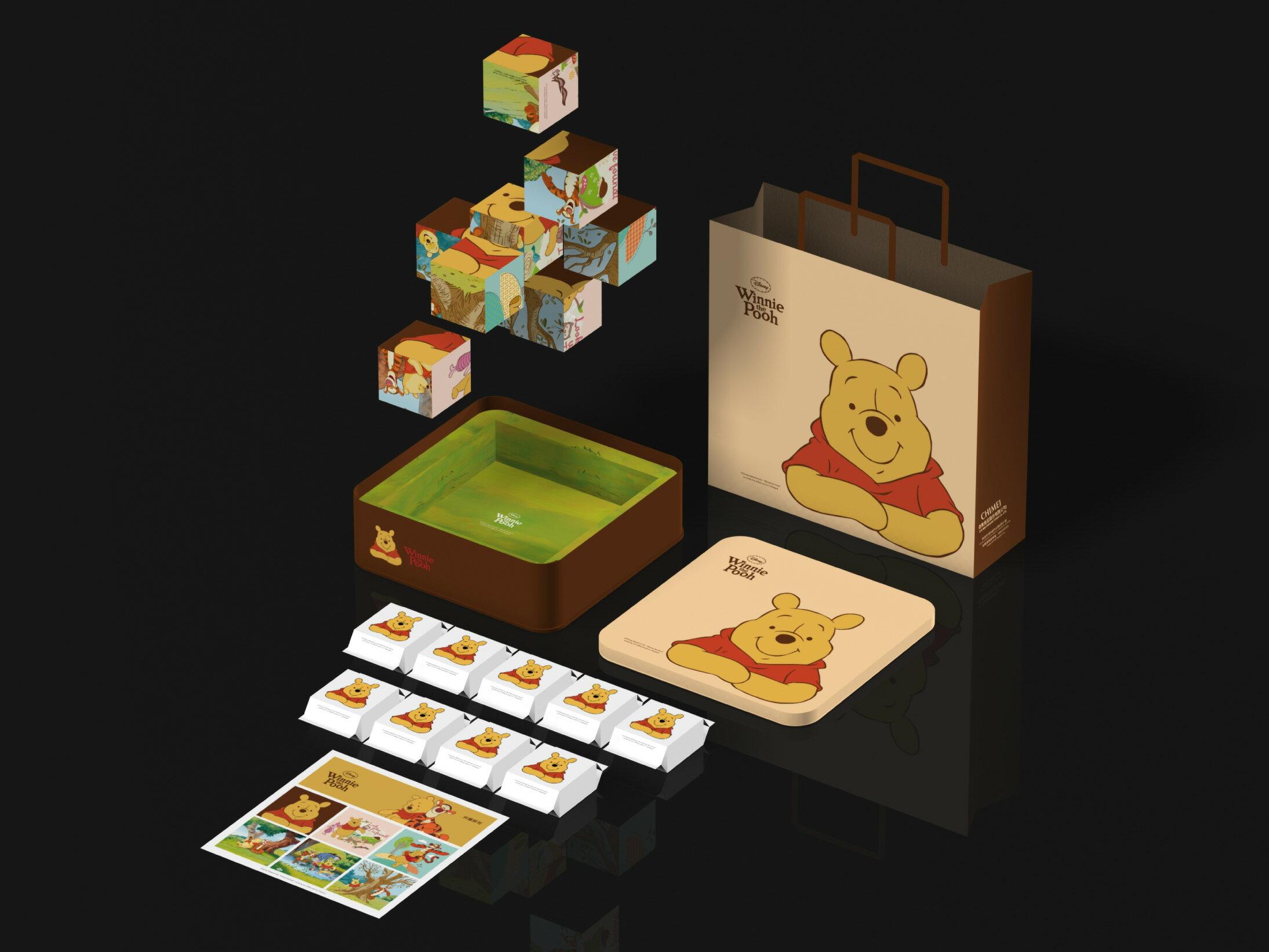 【奇美伴手禮盒】小熊維尼芒果酥禮盒 2