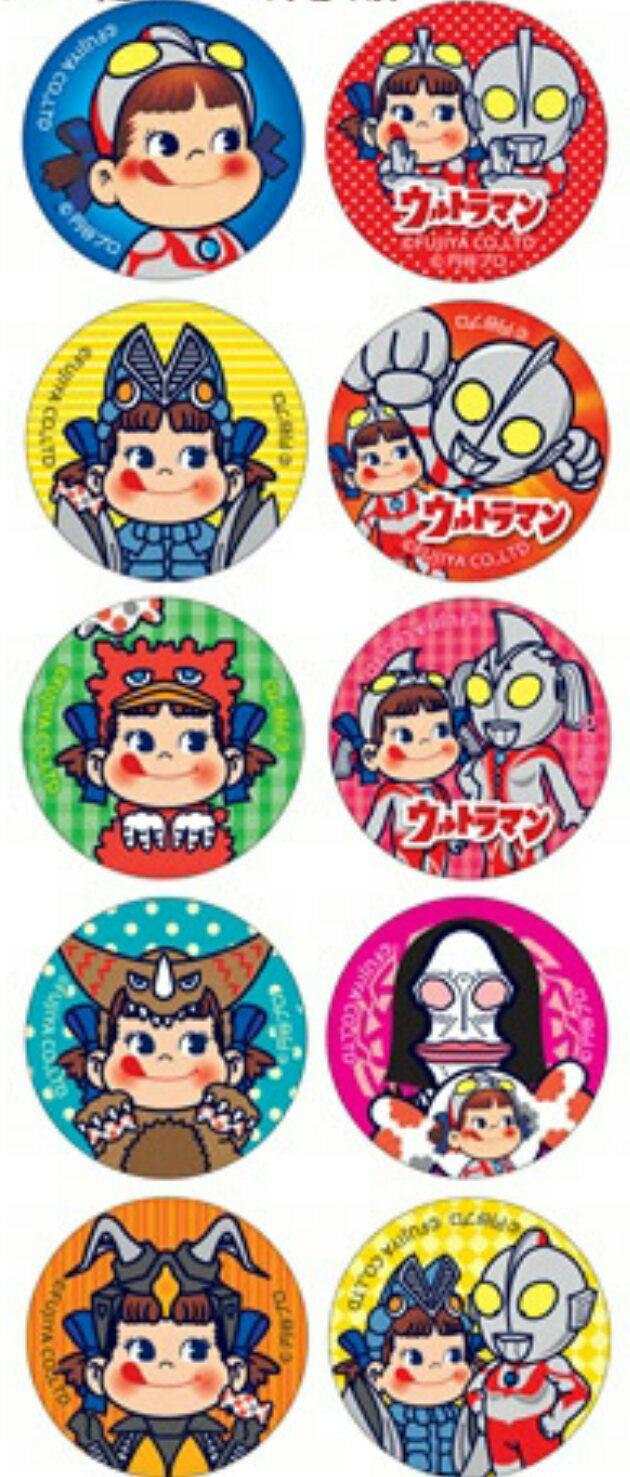 有樂町進口食品 日本進口 不二家 Peko&鹹蛋超人牛奶糖 優格味 73g J68 4902555116501 1