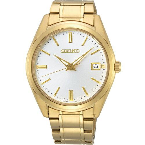 SEIKO精工經典簡約紳士腕錶 6N52-00A0K SUR314P1