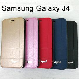 【Dapad】經典隱扣皮套SamsungGalaxyJ4(5.5吋)